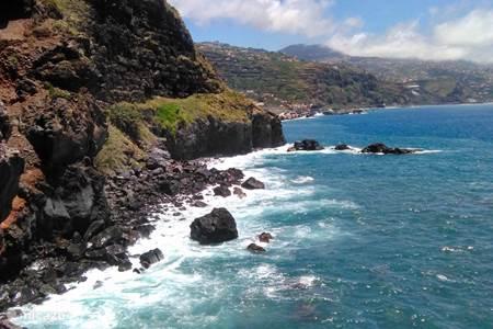 The coast around Madeira