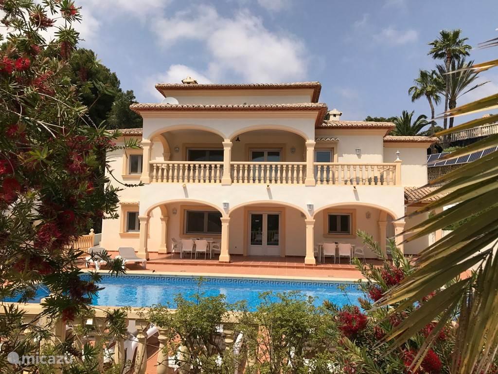 Vakantiehuis Spanje, Costa Blanca, Moraira villa Casa Jessmee