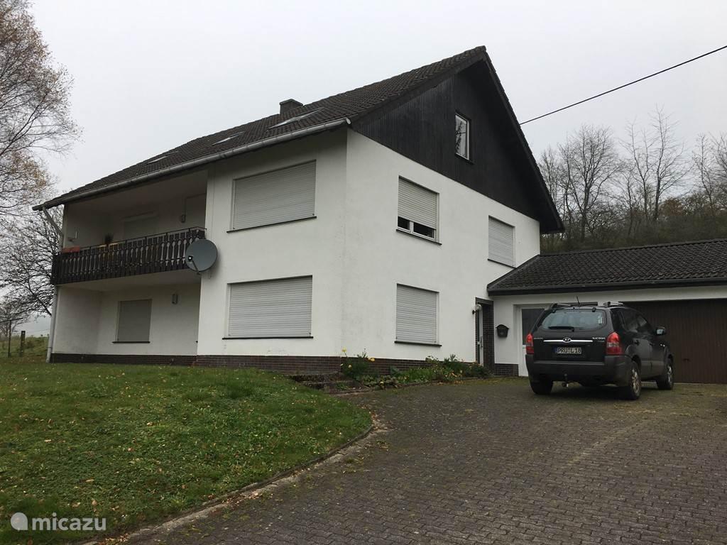 Vacation rental Germany, Eifel, Willwerath apartment Light trap