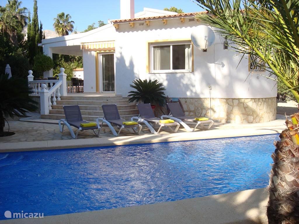 Vacation Rental Spain, Costa Blanca, Alfáz Del Pi Villa Villa Las Coronas  ...