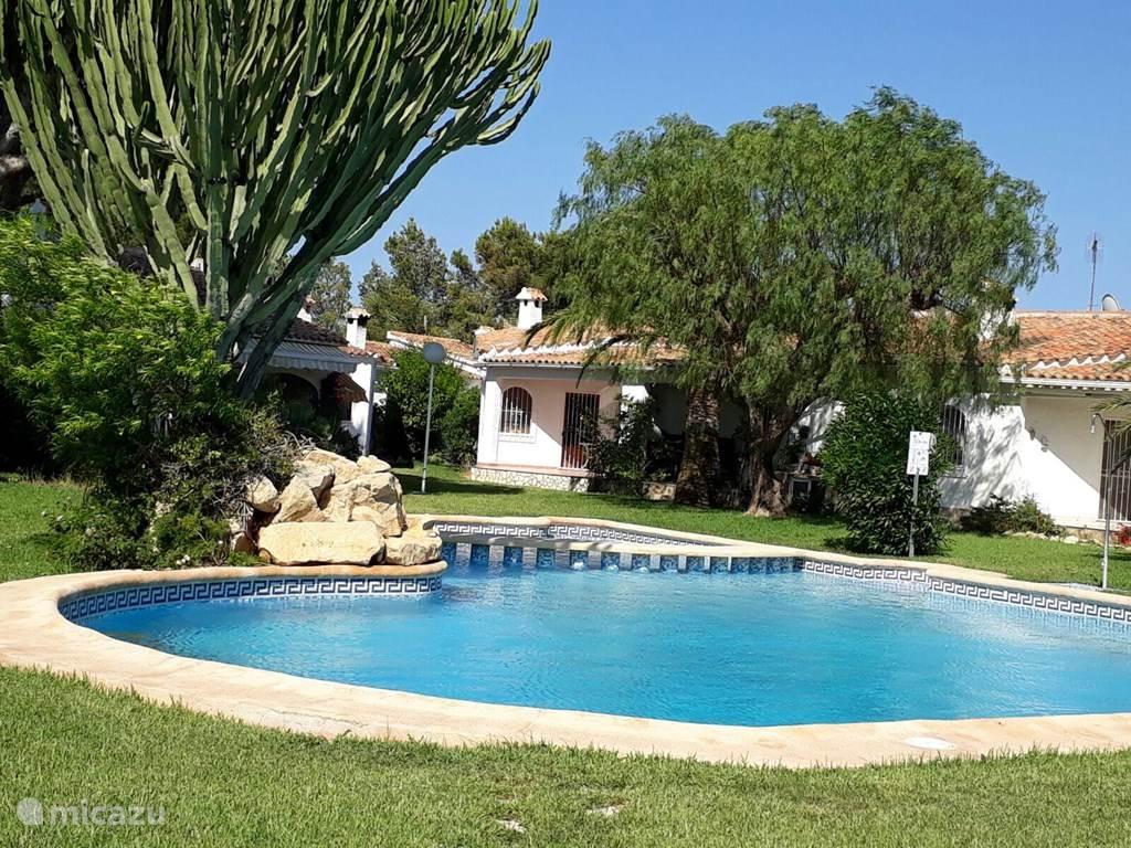 Vakantiehuis Spanje, Costa Blanca, Dénia - bungalow Montesol ll casa2 Calle Datil