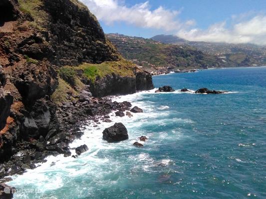 De kust van Madeira