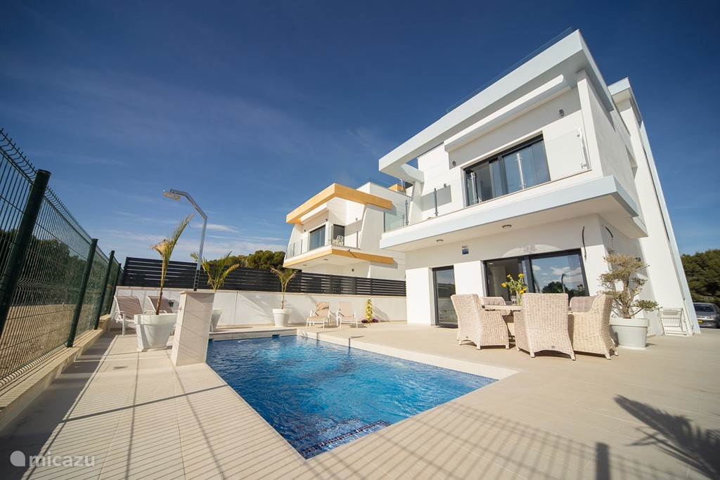 Vacation rental Spain, Costa Blanca, Pilar de la Horadada villa Casa Nickey