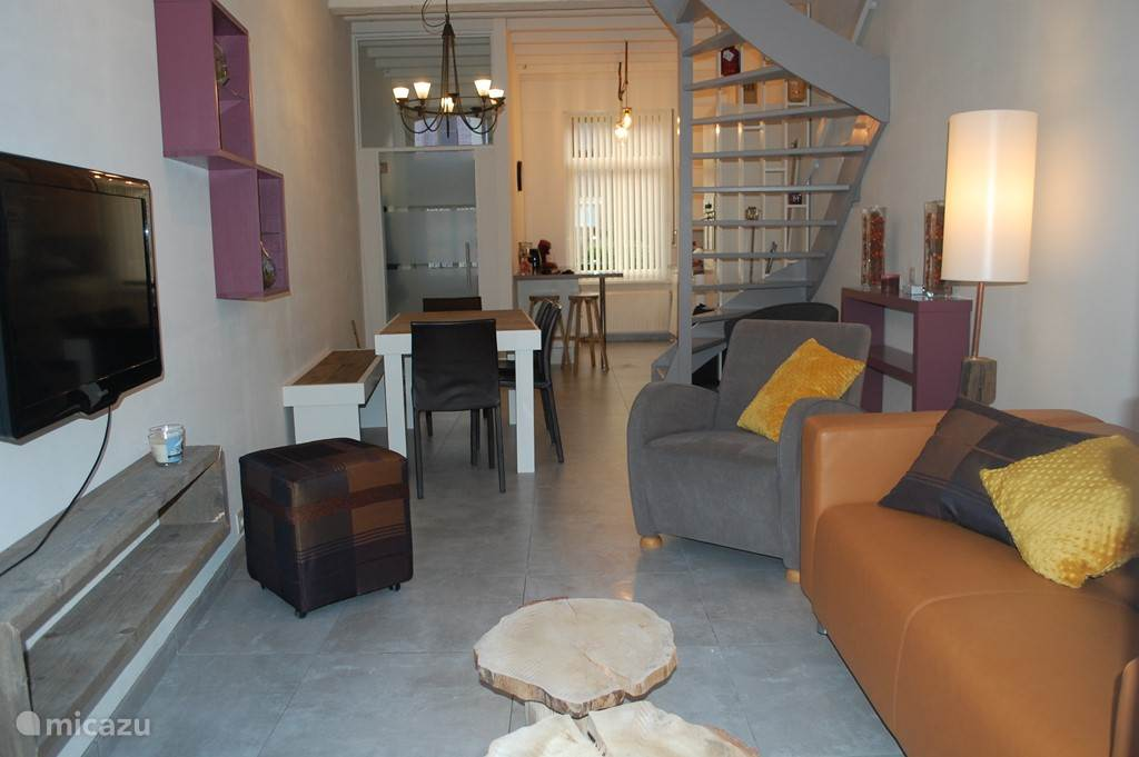Vacation rental Belgium, Flanders, Bruges townhouse House Krombrugge