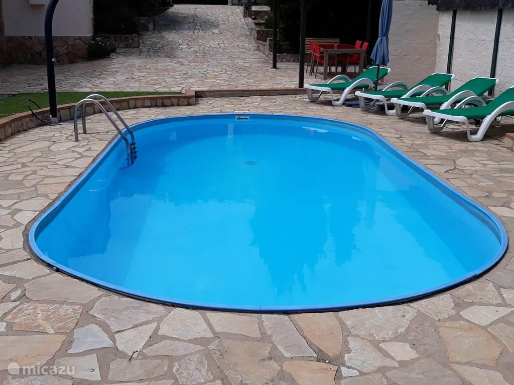 Rondom zwembad