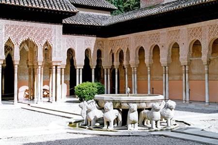 Grenada Moors Kasteel Alhambra