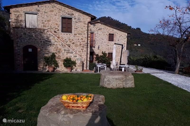 Vakantiehuis Italië, Toscane, Pescia Appartement Agriturismo La Marginella - app. 4