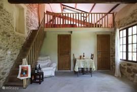 G te cottage le petit g te de marotte in carpentras provence frankrijk huren for Mezzanine in de woonkamer