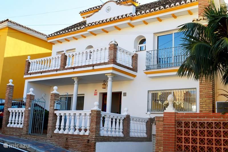 Vakantiehuis Spanje, Costa del Sol, Fuengirola Vakantiehuis Casa Arigili met privé zwembad