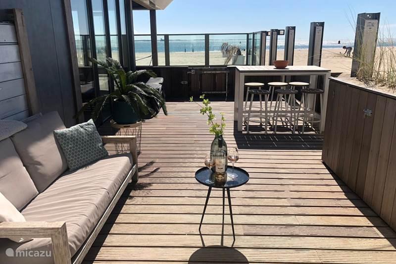 Vakantiehuis Nederland, Zeeland, Vlissingen Vakantiehuis Family Beachroom op het strand!
