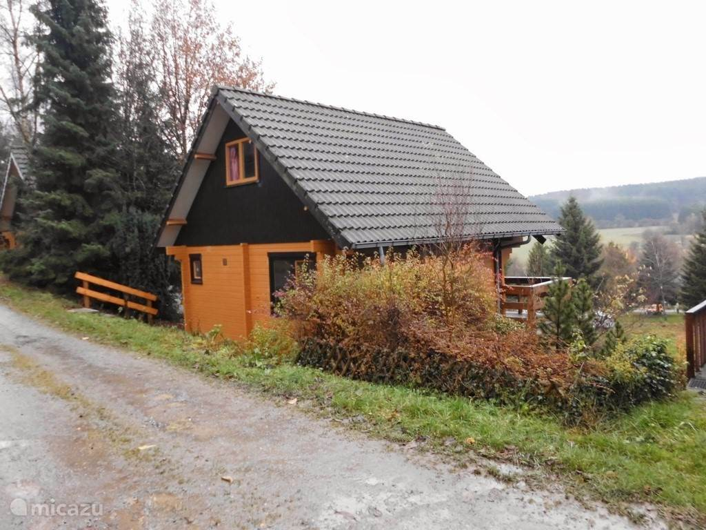 Ferienwohnung Belgien, Ardennen, Dochamps Chalet Finnische Blockhaus Herzen