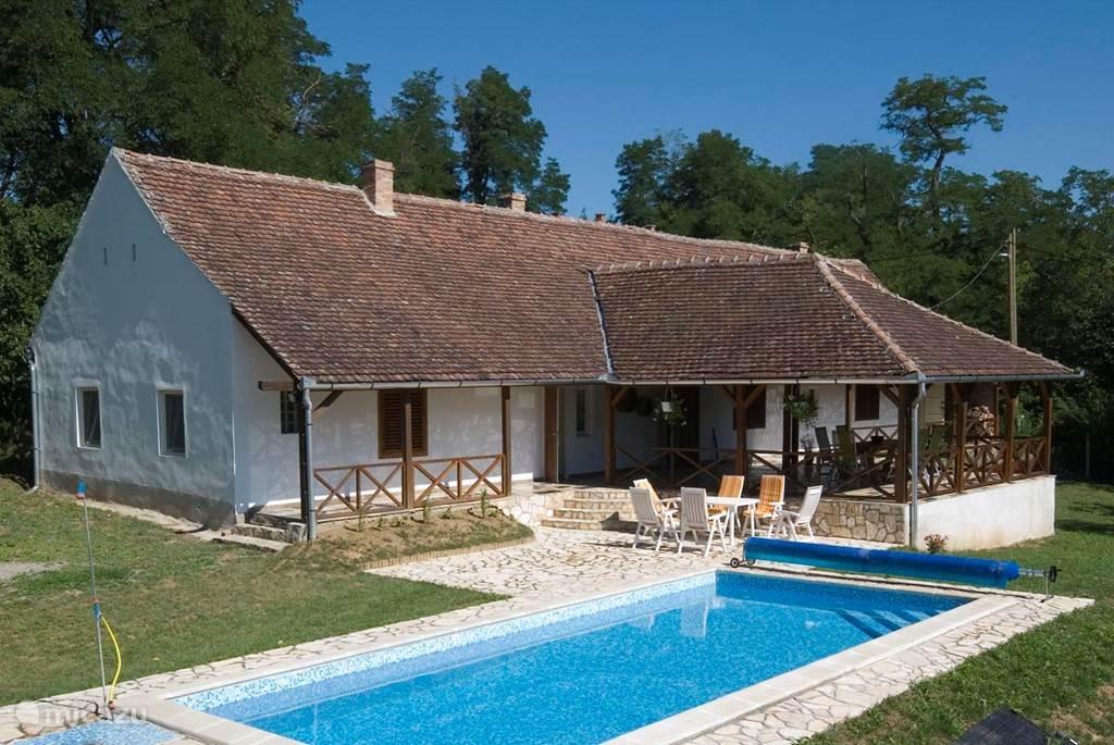 Vakantiehuis Hongarije, Baranya, Magyarlukafa Boerderij Villa Accacia