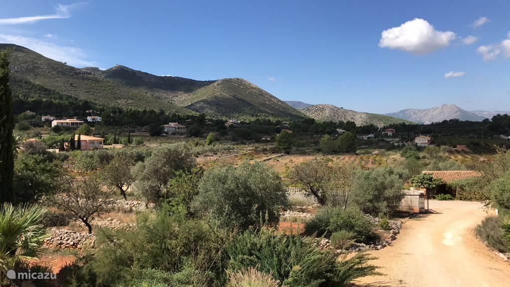 Uitzicht op de Jalon valei