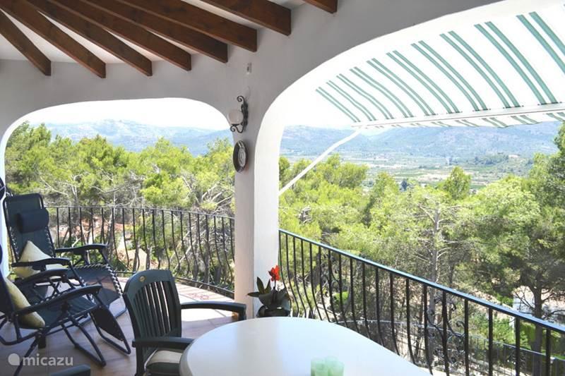 Vacation rental Spain, Costa Blanca, Alcalali Villa Villa Arbolada - beach, bike & hike