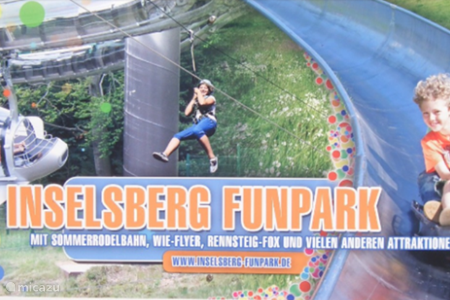 Leuk uitje voor jong en oud. Funpark Inselberg