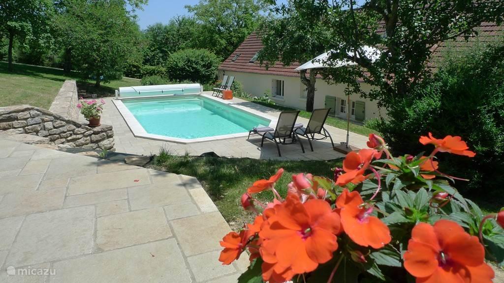 Verwarmd zwembad 4 x 9m