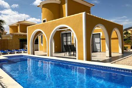 Vakantiehuis Spanje, Costa Cálida, Mazarrón villa Casa Bonita