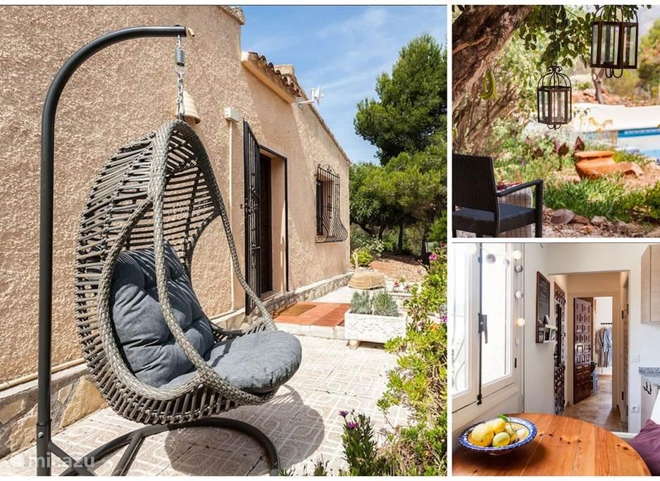 Vakantiehuis Spanje, Costa Blanca, Lliber - vakantiehuis Finca Lliber - Casita
