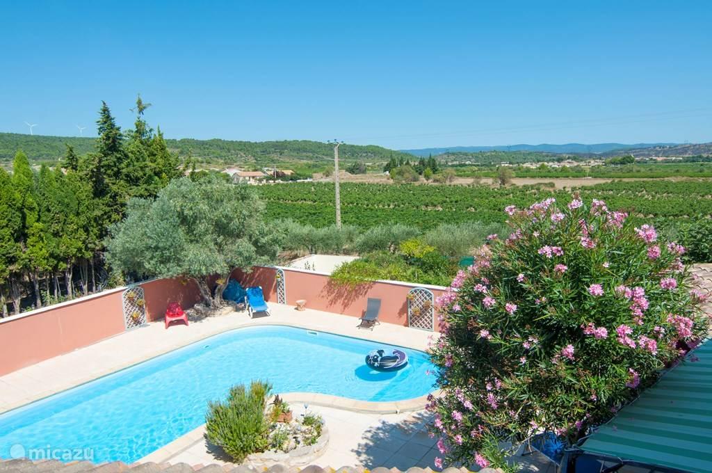 Vakantiehuis Frankrijk, Languedoc-Roussillon, Pouzols-Minervois vakantiehuis La Piscine