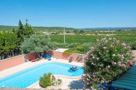 Vakantiehuis Frankrijk, Aude, Pouzols-Minervois vakantiehuis La Piscine