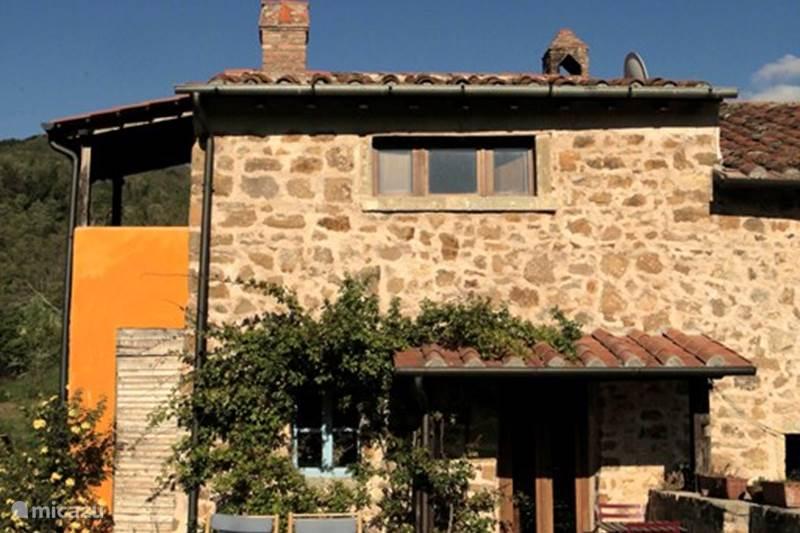 Vakantiehuis Italië, Toscane, Santa Fiora Boerderij Podere di Maggio - Casa Grande