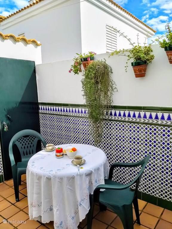 Vakantiehuis Spanje, Costa de la Luz, Islantilla Chalet Casa Miel vlak bij het strand, WiFi