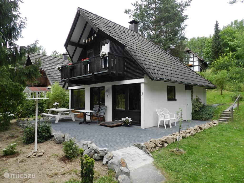 Ferienhaus Erica aan Unesco Kellerwald