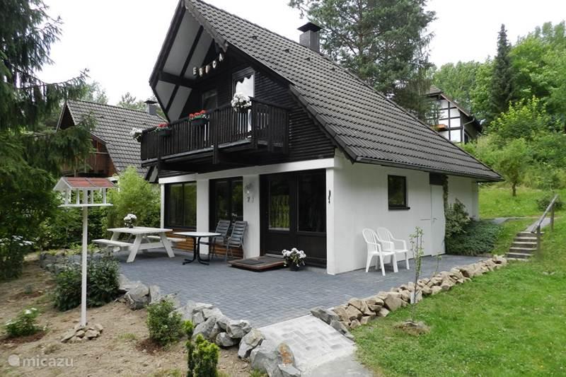 Vakantiehuis Duitsland, Sauerland, Frankenau Vakantiehuis Ferienhaus Erica