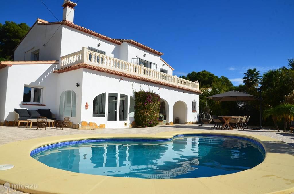 Vakantiehuis Spanje, Costa Blanca, Moraira villa Villa El Portet Moraira 10 persoons
