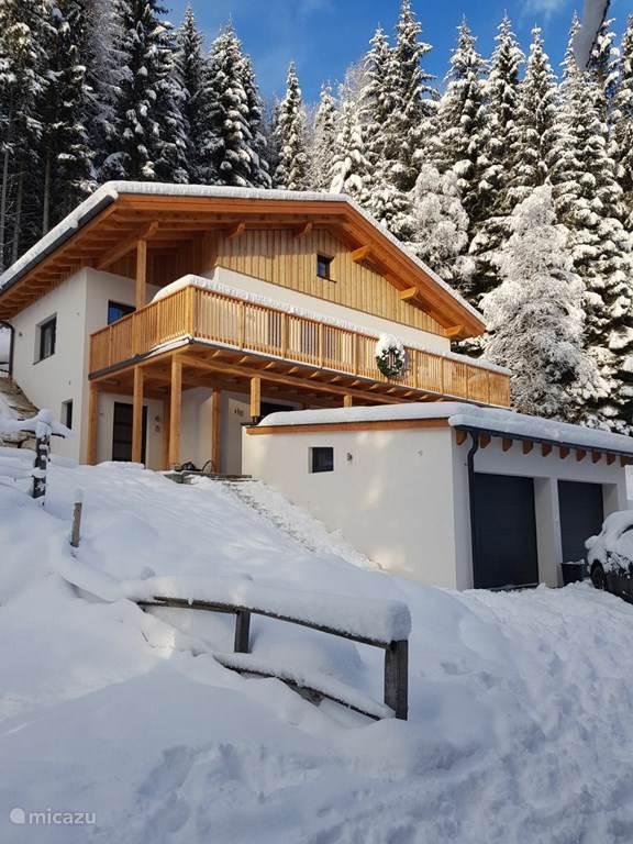 Vakantiehuis Oostenrijk, Karinthië, Bad Kleinkirchheim chalet Vier Jahreszeiten