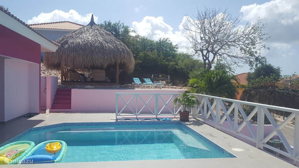 View of Palapa and outdoor shower