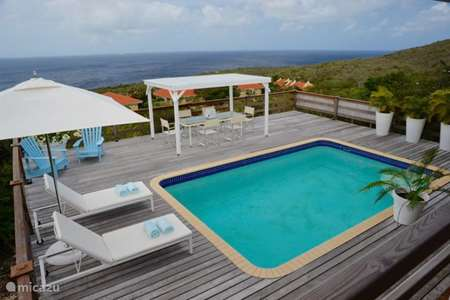 Vacation rental Curaçao, Banda Abou (West), Coral-Estate Rif St.marie holiday house Villa Blue Ocean