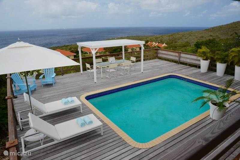 Vacation rental Curaçao, Banda Abou (West), Coral Estate, Rif St.Marie Holiday house Villa Blue Ocean