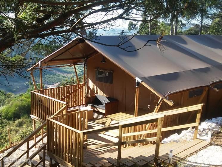 Vakantiehuis Portugal, Costa de Prata, Carvalhal Benfeito – glamping / safaritent / yurt Safaritent Casa Matsu