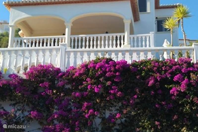 Vakantiehuis Spanje, Costa Blanca, Orba Villa Droomvilla Costa Blanca