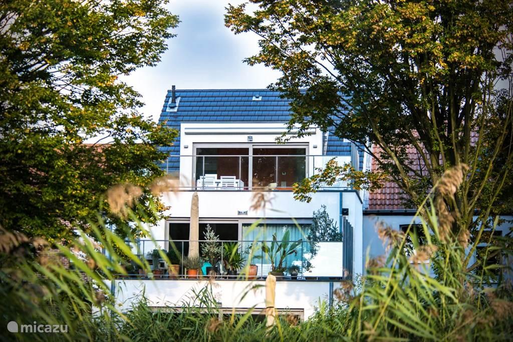 Ferienwohnung Belgien, Antwerpen – bed & breakfast S Füße im Wasser