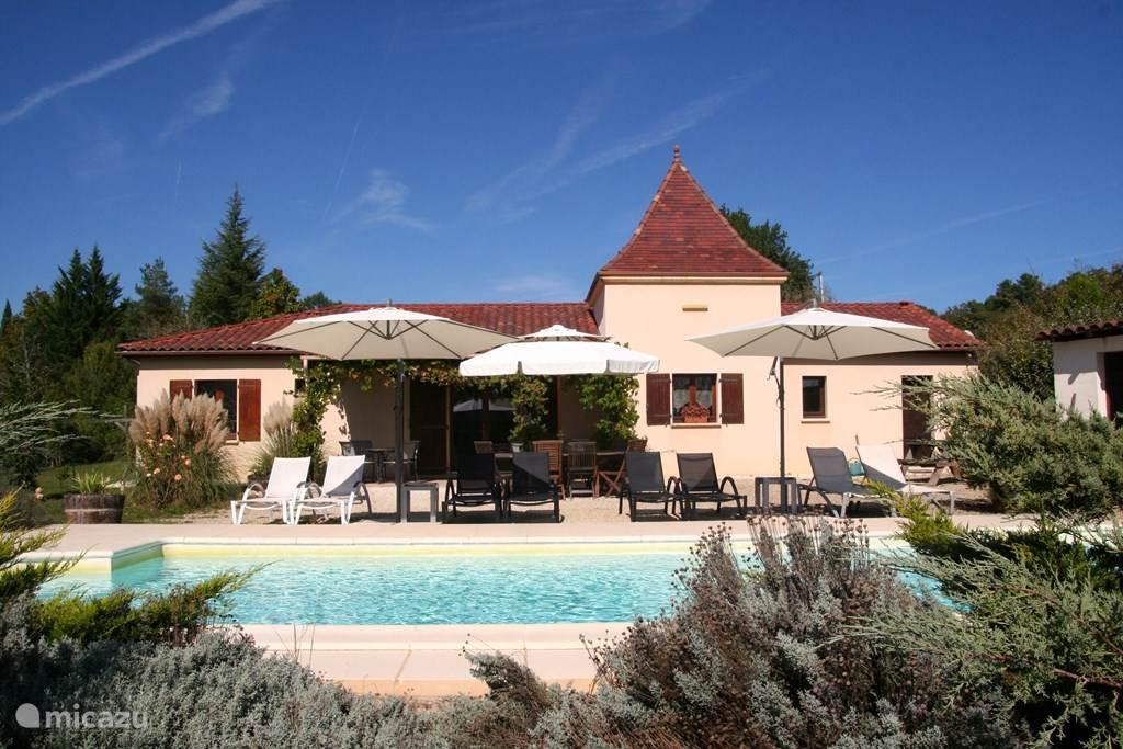 Vakantiehuis Frankrijk, Dordogne, Saint-Cybranet Bungalow Etoile Filante