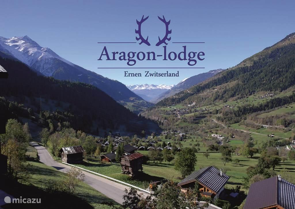 Vakantiehuis Zwitserland, Wallis, Ernen appartement Aragon