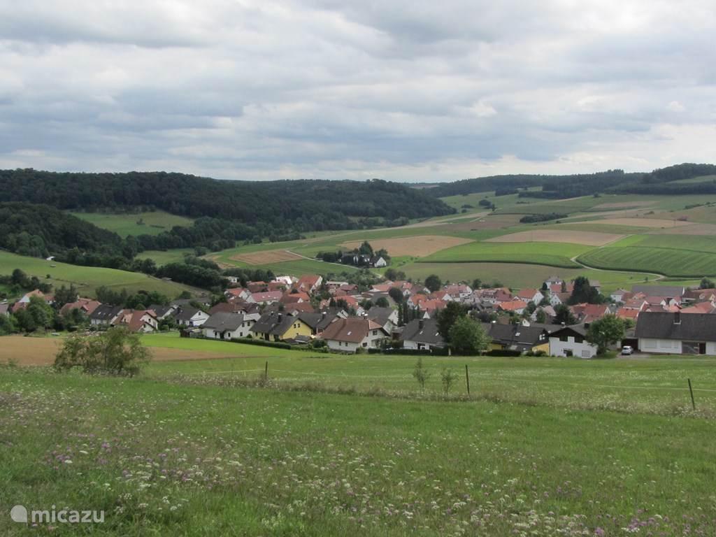Een van de karakterestiek dorpjes in de directe omgeving