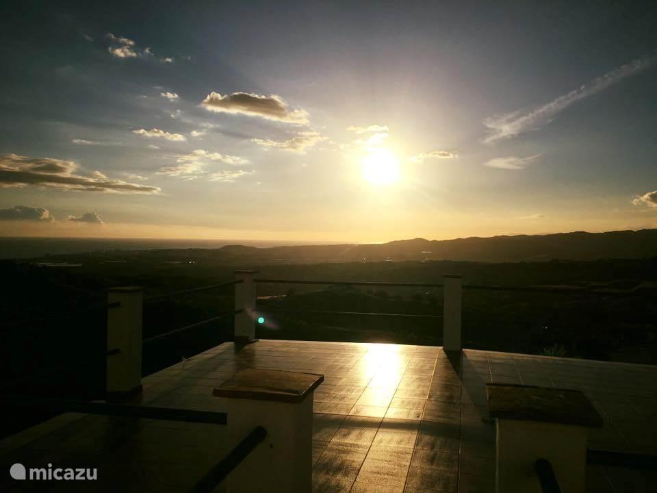 Vakantiehuis Spanje, Andalusië, Arenas Finca Cortijo Que tal?  <-ZEEZICHT->