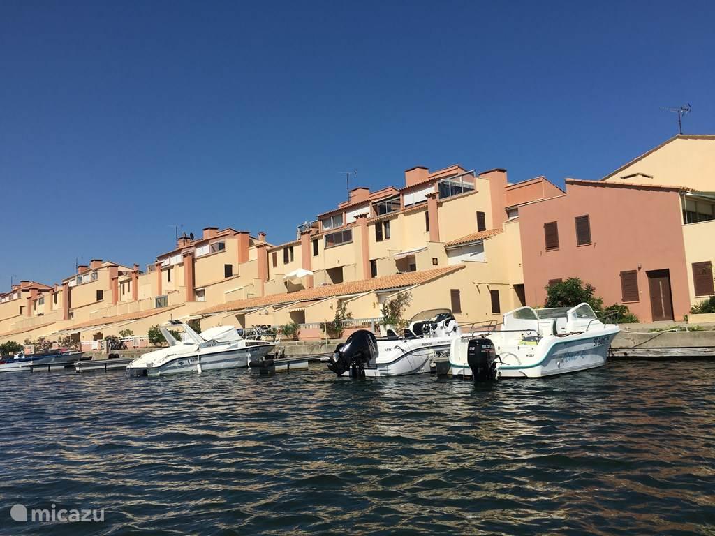 Vakantiehuis Frankrijk, Languedoc-Roussillon, Gruissan Appartement Appartement aan de middelandse zee