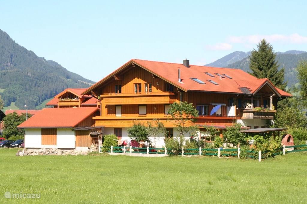 Vakantiehuis Duitsland, Beieren, Ofterschwang Appartement Vakantiewoning Fröhlich