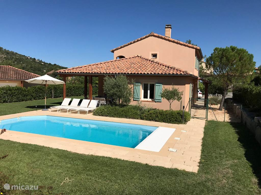Vakantiehuis Frankrijk, Ardèche, Vallon-Pont-d'Arc - villa Villa Emeraude