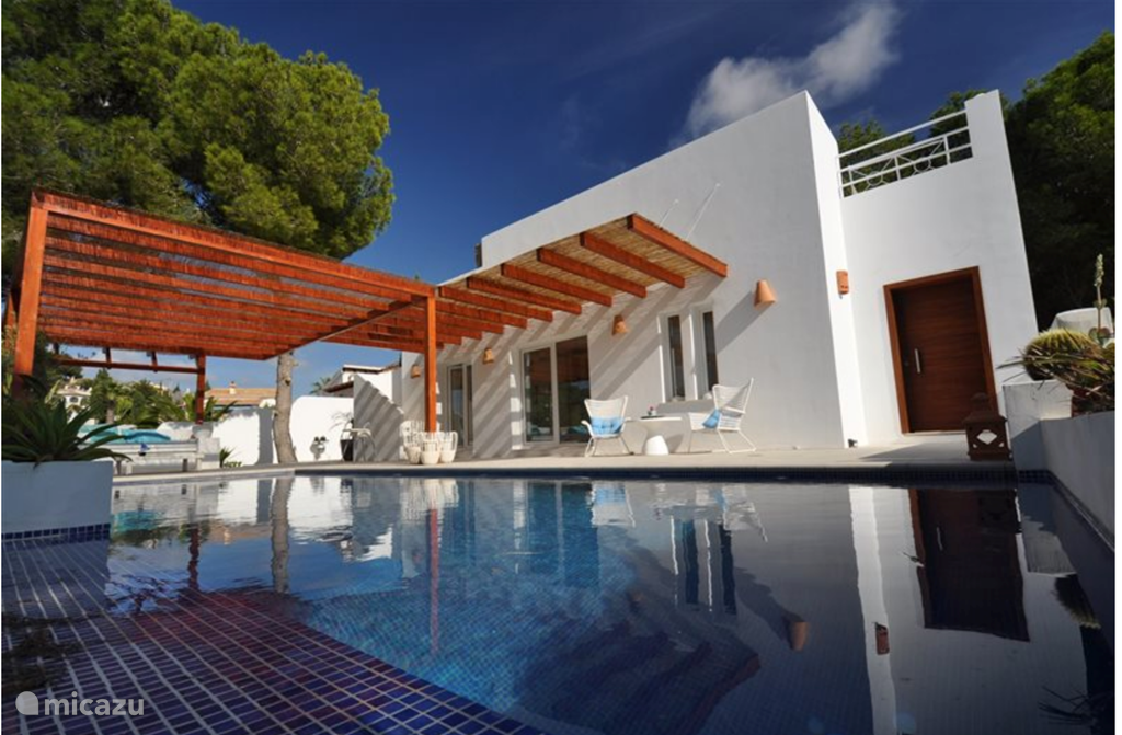 Vakantiehuis Spanje, Costa Blanca, Moraira villa Villa Albi, open zeezicht
