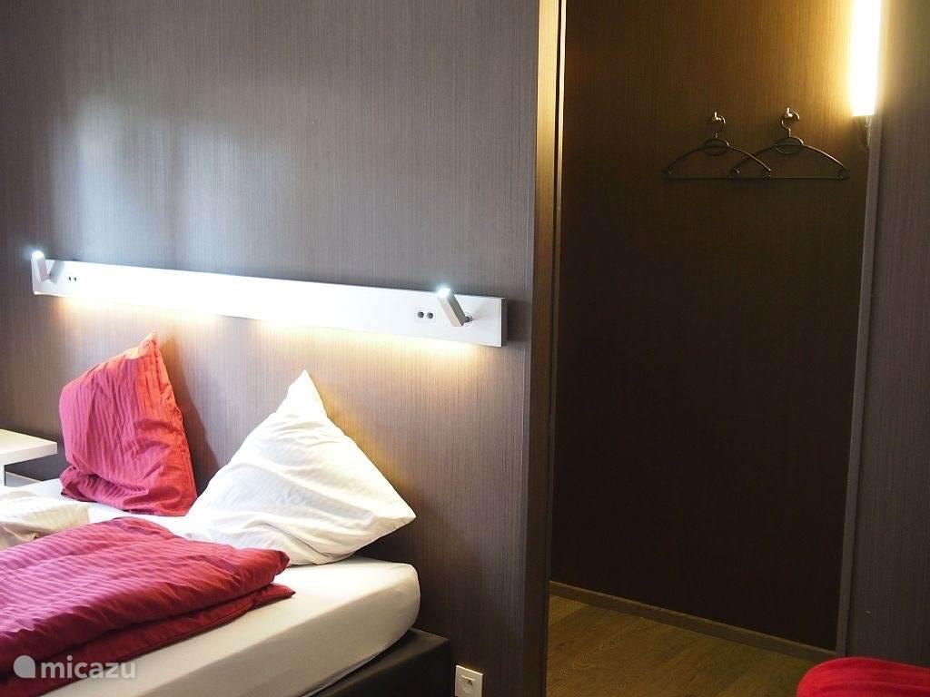 slaapkamer 1 met sauna