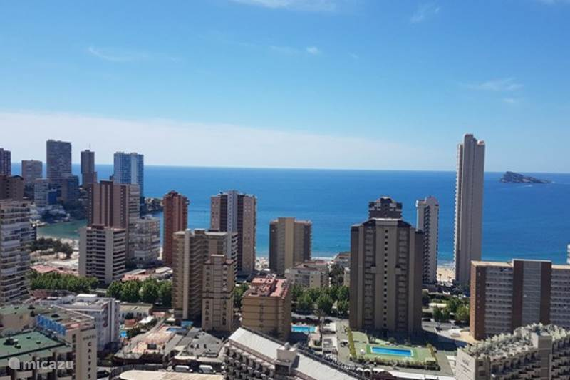 Vacation Rental Spain Costa Blanca Benidorm Apartment Gemelos 26 Luxury