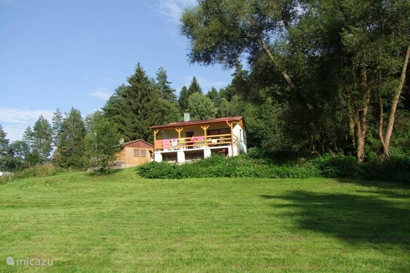Vakantiehuis Tsjechië, Vysocina, Cervená Recice Chalet Chalet Jelen