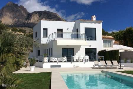 Vakantiehuis Spanje, Costa Blanca, Finestrat - vakantiehuis Casa Torres • zeezicht • >300dgn zon