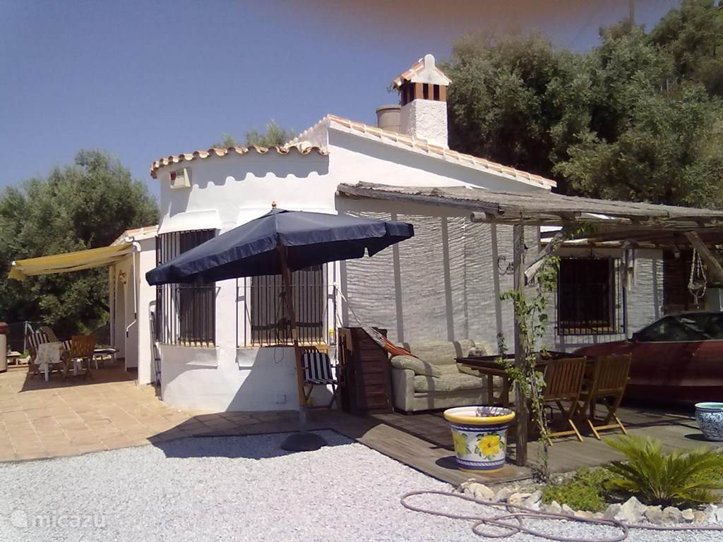 Vakantiehuis Spanje, Andalusië, Cómpeta vakantiehuis Casa Ana