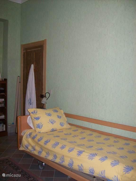 2e slaapkamer met mogelijkheid voor twee eenpersoonsbedden.